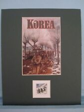 Honoring Korea and Korean War Veterans & its own stamp