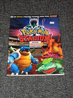 """Pokemon Stadium"" N64/Official Player's Guide Brand New/Near Mint  Ships Boxed!"
