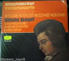 Mozart: Piano Concertos N. 8, 23, 24, 27 / Kempff - DGG  Box 2 LP