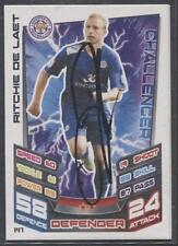 A Topps Match Attax card Ritchie De Laet at Leicester. Personally signed by him.