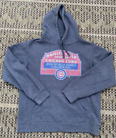 Chicago Cubs 2016 World Series Champions Wrigley Field Marquee Fanatics Hoodie