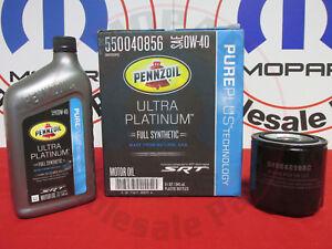 DODGE CHRYSLER 6.4L Full Synthetic Pennzoil Motor Oil & Filter NEW OEM MOPAR
