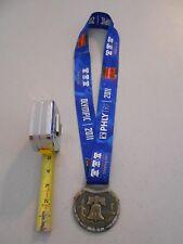 Nice 2011 Philadelphia Triathlon Finisher Ribbon Heavy Medal Phlytri Toyota Cup