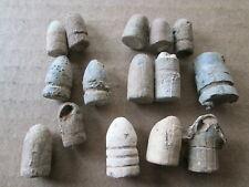 18Th- 19Th Century Original Period Black Powder Pistol Bullets,(17) .30- .44 Cal