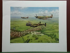 Per Ardua AD Astra,Memorial Flight by John Young ,Limited Edition,Signed,Print