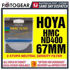 Genuine HOYA HMC ND400 Netural Density NDx400 Multi-Coated 67mm Filter AUSPOST