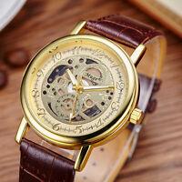 Armbanduhr Trend Skelett Herren Frauen Quarz Neu Mode Männer Watch Angebot