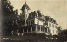 Stamford NY The Atchinson Mansion c1915 Real Photo Postcard