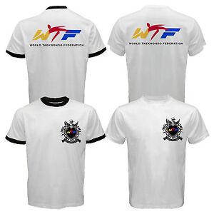 New WTF World Taekwondo Federation Team Championships Korean Martial Art T-shirt