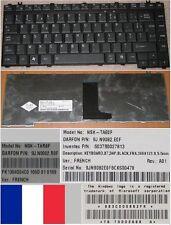Clavier Azerty Fr TOSHIBA A300 A305 M300 NSK-TAE0F 9J.N9082.E0F G83C00086FR Noir