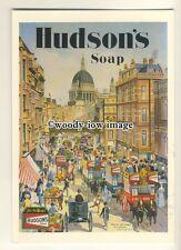 ad3728 - Hudson's Soap - Sights Of London - Modern Advert Postcard