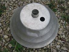 Vintage  Used Aluminum Metal Patio Umbrella Stand