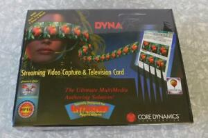 Vintage Core Dynamics DYNA FX Streaming Video Capture & Television Card PC NEW