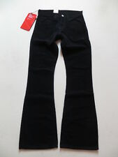 Levi's Jeans 516 Cord Hose, W 29 /L 34, Schwarz ! Hippie Flared Cordhose, NEU !