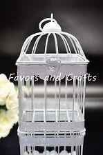Retro Bird cage  Lantern Wedding Rustic Vintage Centerpiece Set of 2
