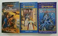 Lot of 3 PB Dragonlance Lost Histories Trilogy Sci Fi Fantasy A324