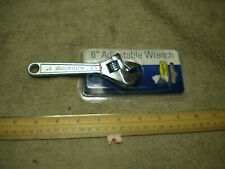 Lil Auto Store 6 Inch Adjustable Wrench, New in Package, See Pictures