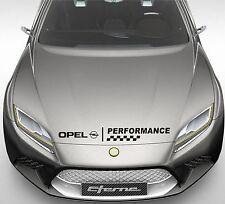 Performance Car Bonnet Sticker fits Opel Logo Decor Decal Sticker DE32