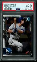 2016 Bowman Chrome Vending Corey Seager RC Card #150 PSA 10 Gem Mint Rookie