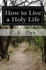 How to Live a Holy Life by C. E. Orr (2015, Paperback)