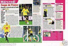 Coupure de presse Clipping 2012 (1 page 1/3 ) Coupe de France US Quevilly