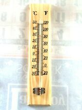Thermometer Indoor Outdoor Temperature Wall Hanging Room Sensor Mercury Fre