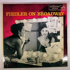Vinyl Record	Arthur Fiedler	Fiedler On Broadway	LM-2215	RCA Victor Red Seal	1958