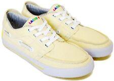 Lacoste Cabestan Vulc Atmos 3 STM Textil Canvas Neu Gr:42 Gelb Yellow Sneaker
