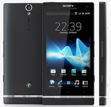 Sony Ericsson Xperia SL LT26ii Unlocked Android Smartphone 12MP - BLACK (32GB)