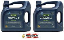2x 4l Liter Aral Super Tronic E 0W-30 Motoröl ACEA A5/B5 API SL Motorenöl 8l