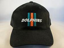 NFL Miami Dolphins Vintage Strapback Hat Cap Black