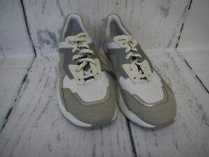Timberland Damen Schuhe Delphiville White Silver Nubuckleder Sneaker Gr. 38 Neu