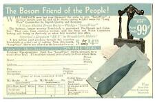 Advertising Postcard Broadcloth Shirts New Process Co Warren PA