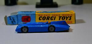 Corgi Proteus Campbell Bluebird Record Car with box
