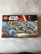 Lego Star Wars-Millennium Falcon (75105) - Nuevo Y Sellado-Nuevo Y En Caja