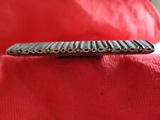 Fer à dorer en bronze pour relieur doreur