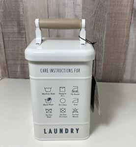 Better Homes & Gardens Farmhouse Metal Laundry Detergent Powder/Pod Holder