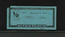 U.S. Tax Paid Revenue Stamp For Mixed Flour, Springer Cat. # Td7B