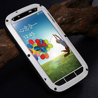 NEW WATERPROOF ALUMINUM GORILLA GLASS METAL CASE FOR SAMSUNG GALAXY S4 S V i9500