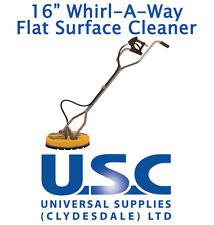 Superficie plana giratoria se Whirlaway 16 Limpiador de patio de limpieza de Alimentación Lavadora a Presión