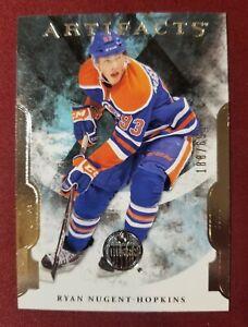 2011-12 UD Rookie Artifacts #212 RYAN NUGENT-HOPKINS RC #188/699 Edmonton Oilers