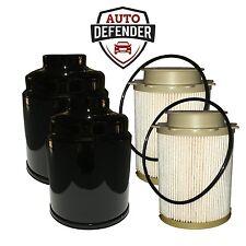 Dodge Ram 6.7 Fuel Filter Kit for 13-17 Cummins Diesel 2 Front & 2 Rear Filters