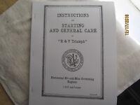 1916 Root & VanDerVoort  1HP & Larger Horizontal Engine Instruction Manual