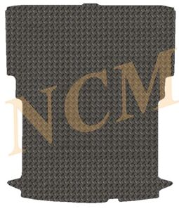 FIAT DOBLO / VAUXHALL COMBO SWB 2010 -20 TAILORED RUBBER MAT in 3, 5MM THICKNESS