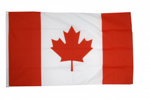 Canada Flag Size 3x5ft 90x150cm Flags Eyelets