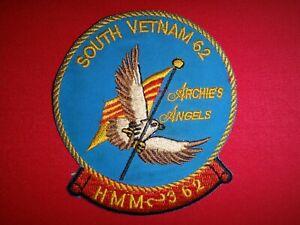 Vietnam War Patch USMC Marines HMM-362 ARCHIE'S ANGELS In South Vietnam 1962
