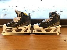 CCM Tacks Goalie Skates 6092 + Step Steel Black, Size 4