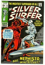 Silver Surfer #16 (1970) VG/F New Marvel Collection