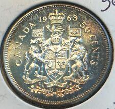 1963 Canada Half Dollar Gem PL Beautiful Toning CHN