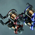 Right Hand Trolling Reels Baitcasting Fishing Saltwater Ice Carp With-Line New